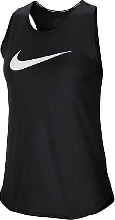 Nike Swoosh Running Tank Bekleidung Damen schwarz