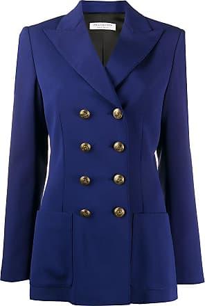 Philosophy di Lorenzo Serafini double-breasted fitted blazer - Blue