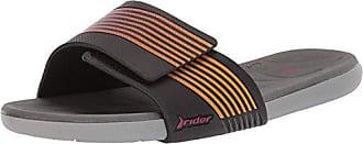 17a3c6787c7da6 Rider Womens Prana Slide Sandal Grey Black Pink 6 Medium US