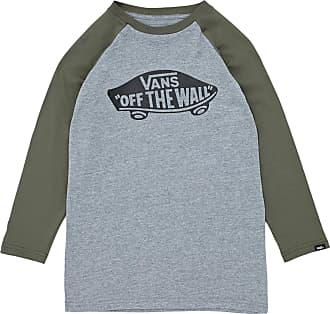 5cadea02d0 Vans OTW Raglan Long Sleeve T-Shirt Medium (Jnr) Heather Grey Grape Leaf