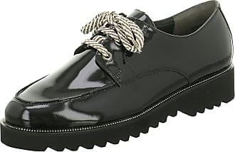 Damen Schnürschuhe Schnürer Sneaker Paul Green Lack Leder