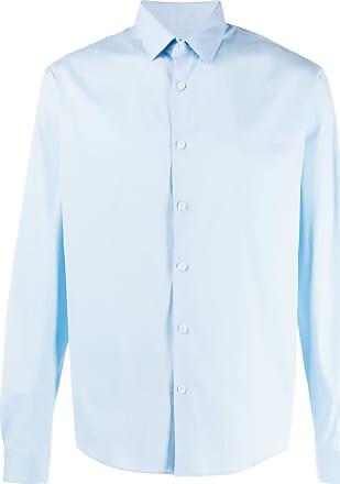 Sandro Camisa lisa com botões - Azul
