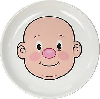 Fred Perry MR. FOOD FACE Kids Ceramic Dinner Plate