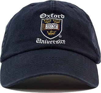 Oxford University Shield Old English Baseball Cap - Official Merchandise Navy