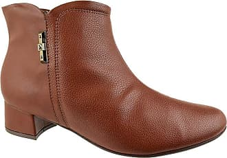 Piccadilly Ankle Boot Piccadilly Lined Marrom Feminino