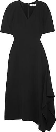 Victoria Beckham Victoria Beckham Woman Midi Dress Black Size 14