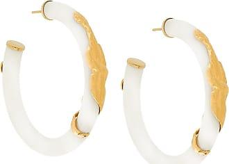 Gas Bijoux Cobra earrings - Branco