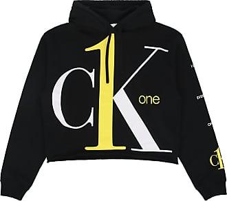 Calvin Klein Jeans Calvin klein jeans Big logo cropped hooded sweatshirt BLACK BEAUTY XS