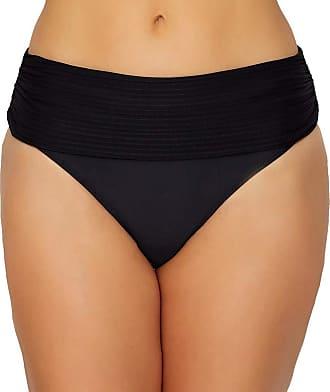 Pour Moi? Bali Fold Over Bikini Brief Bottoms 13103 (10) Black