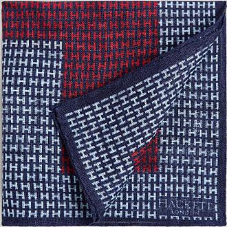 Hackett Oversized Linen Pocket Square