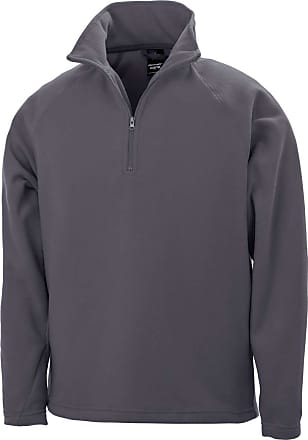 Result Mens Core Micron Anti-Pill Fleece Top (M) (Charcoal)