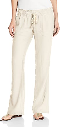 Roxy Women Oceanside Pant, off-White (Stone), X- Small
