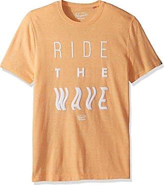 Original Penguin Bright White Wave Design T-Shirt