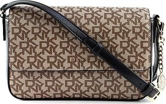 DKNY Bryant Shoulder bag black/brown