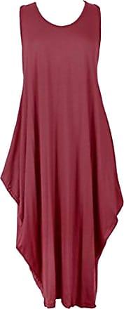 Generic Womens Dress One Size (Wine, One Size)