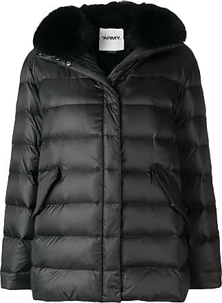 Yves Salomon - Army short down jacket - Black
