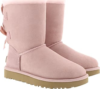 UGG Boots & Booties - W Bailey Bow II Pink Crystal - rose - Boots & Booties for ladies