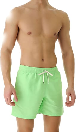 Ralph Lauren Swim Shorts Trunks for Men On Sale in Outlet, Lime, poliammide, 2019, S