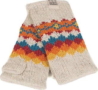 PK1319 Kusan Knitted Grey Rib Handwarmers