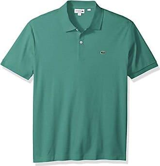 e4bd76fdaa5f9a Lacoste Mens Short Sleeve Pima Jersey Interlock Regular Fit Polo