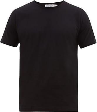 Comme Des Garçons Comme Des Garçons Shirt - Crew-neck Cotton-jersey T-shirt - Mens - Black
