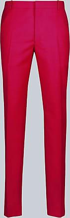 Alexander McQueen Wool tapered pants