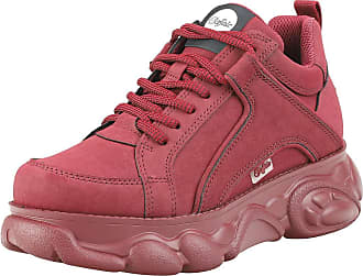 Buffalo Corin Womens Platform Trainers in Burgundy - 6.5 UK