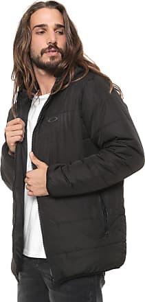Oakley Jaqueta Puffer Oakley Mod Down Jacket Preta