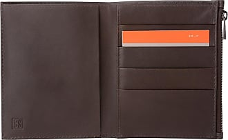 8617e57522 DuDu Portafoglio Uomo in Vera Pelle formato Verticale Slim Porta Carte con  Zip adatto a Carta