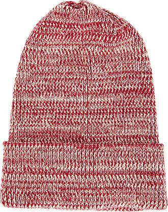 0711 mottled beanie - Red