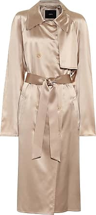 Joseph Cepio silk-satin coat