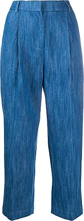 Ymc You Must Create high-waisted cropped jeans - Blue