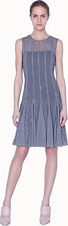 Akris Dress in monochrome mesh