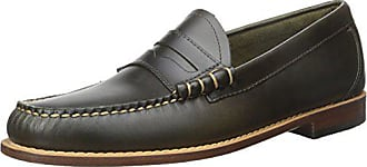 G.H. Bass & Co. Mens Larson Penny Loafer, Green, 8.5 M US