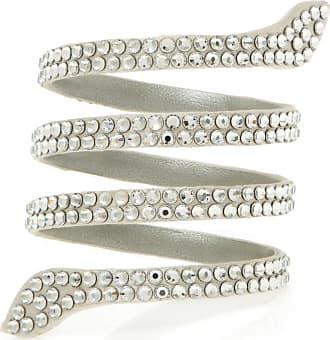 Rene Caovilla Bracelete Cleo Crystal Prateado - Mulher - Único IT