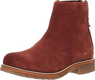 Bos. & Co. Womens Bay Ankle Boot Brick Suede 40 M EU (9-9.5 US)