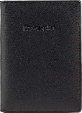 Visconti Soft Leather Secure RFID Blocking Passport Cover Wallet