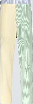 Thom Browne Pantaloni a righe in cotone