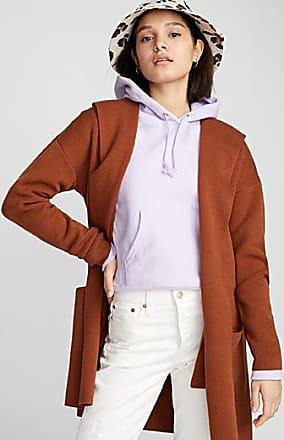 Twik Accent-pocket hooded cardigan