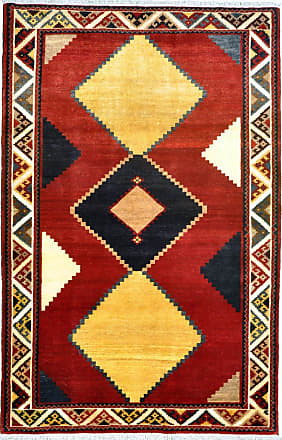 Nain Trading 190x126Tappeto Persia Gabbeh Vecchio Moderna/Design Grigio Scuro/Ruggine (Annodato a mano, Lana, Persia/Iran)
