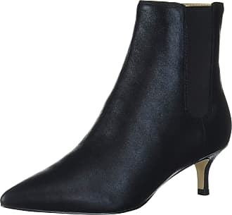 Katy Perry Womens Pointy Toe Bootie with Kitten Heel Size: 6.5 UK Black
