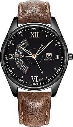 Yazole Relógios Quartzo Masculino Yazole D337 à Prova d água (5)