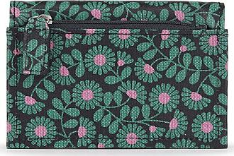 Orla Kiely Poppin - Card Purse - Emerald
