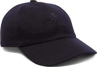 Loro Piana Logo-embroidered Storm System Baby Cashmere Baseball Cap - Navy