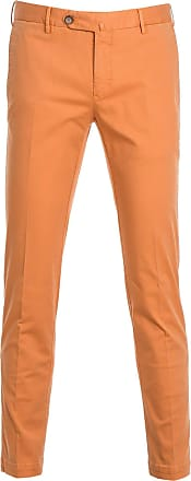 PT01 Fashion Man KTSCZD0CHNNU200858 Orange Cotton Pants | Spring Summer 20