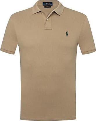Polo Ralph Lauren Polo-Shirt Slim Fit (Beige) - Herren