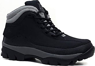 Groundwork MENS GROUNDWORK LEATHER UPPERS SMART/CASUAL LACE UP STEEL TOE CAP SAFETY BOOTS (UK10, 386 Black)
