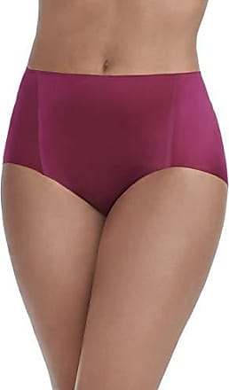Vanity Fair Womens Underwear Nearly Invisible Panty, Chilled Wine - Brief, Large/7