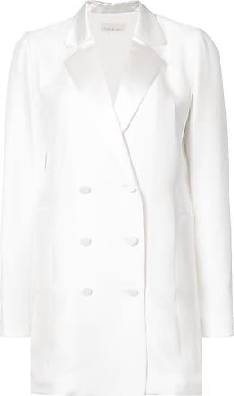 Fleur du Mal double-breasted blazer dress - White