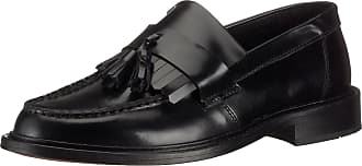 Ikon Ik3235 - Selecta Tab Slip On Loafer With Tassel Black 11 Ukregular